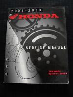 2001 2002 2003 HONDA TRX 300EX SPORTRAX ATV ALL TERRAIN VEHICLE SERVICE MANUAL