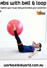 Resistance Band Fit Ball Abs DVD - Barlates Body Blitz ABS WITH BALL AND LOOP!