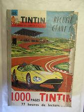 Recueil Tintin Numéro 48 Reliure du numéro 636 au 655 complet points Tintin