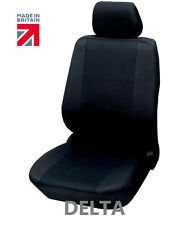 HONDA Luxury BLACK Front DRIVER Seat COVER Protector CIVIC CR-V JAZZ