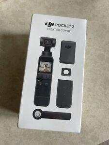 DJI Pocket 2 Creator Combo - 3 Axis Handheld Gimbal Stabilisator mit 4k Cam. NEU