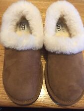UGG Australia Women's Nita Slippers Size 6 Chestnut - Warm Cozy - brown NEW