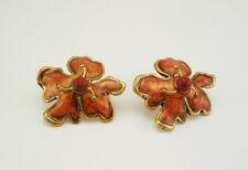 Chico's Enameled Flower Earrings
