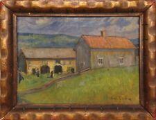 Anna Cervin (1878-1972): FARMHOUSE