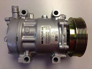 For Ford E-150 E-250 E350 Econoline A/C Compressor w/ Clutch Sanden NEW