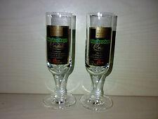 2 Gläser * MOSKOVSKAYA CRISTALL Wodka * 2cl / 4cl Schnapsgläser KULT TOP LOOK ->
