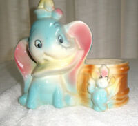 Vintage DISNEYANA Dumbo Planter Walt Disney Prod
