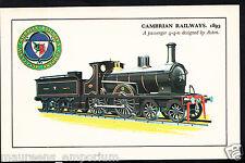 Railway Transport Postcard- Cambrian Railways,1893, A Passenger 4-4-0 - RS752