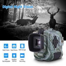 Digital Infrared Night Vision Monocular 8Gb Dvr Recorder Surveillance Scope 5x18
