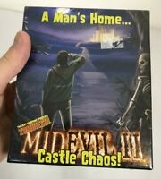 Midevil 2 Castle Chaos Rare Sealed Game Twilight Creations 2006 zombie Card Game