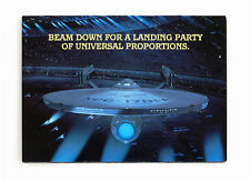 STAR TREK ADVENTURE – UNIVERSAL STUDIOS PARTY INVITATION