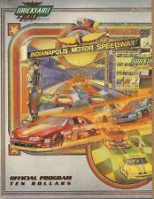 1998 400 Brickyard Program Jeff Gordon Hendrick Motorsports Winston Cup Indy