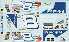 #8 Mark Martin Principal 2008 Chevy DEI 1/25th - 1/24th Scale WINSCAL DECAL