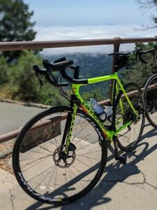 2017 Cannondale Super Six Evo 56 Disc Brakes. Power Meter included.