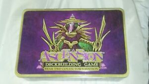 Ascension Deck Building Game     Year Two Collector's Edition    Tin Container
