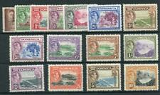 Dominica 1938-47 set SG99/109 MNH/MM (most MNH)