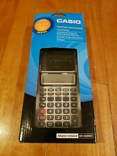 Casio Hr-8Tm Plus Handheld Portable One-Color Printing Calculator, Black