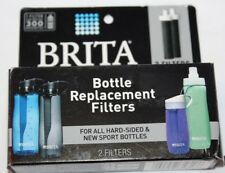 BRITA Replacement Hard-Sided & Sport Bottle Filter, 2 Filters