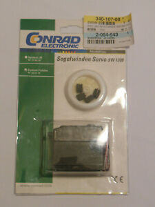 Segelwinde Servo SW 1200 Conrad Electronik System Futaba Modellbau OVP