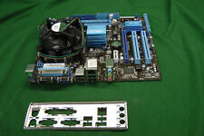 Asus P5G41T-M Rev1.02 Motherboard w/ Celeron E3400 2.6Ghz & I/O Shield #8696