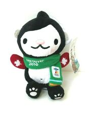 """New Vancouver 2010 Winter Olympics Miga Plush 9.5"""" Mascot with Red Mittens"""