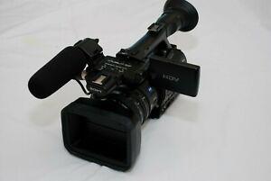 Sony HVR-Z7e PAL HDV1080i DVcam MINI DV Camcorder + sony mrc1k+camera bag