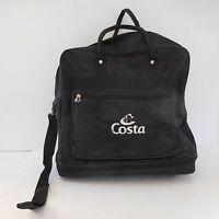 Sac valise de voyage croisière COSTA noir vintage
