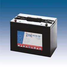 12V 70Ah CTM AGM Longlife-Batterie