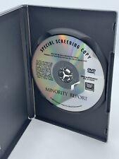 Minority Report Exclusive Special Screening Copy 2002 20th Century Fox Dvd