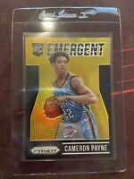 Cameron Payne 2015-16 Panini Prizm Emergent Rookie GOLD /10 RC INVEST 📈 HOT 🔥