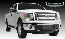 For 2013-2014 Ford F150 Polished Aluminum Grille Overlay