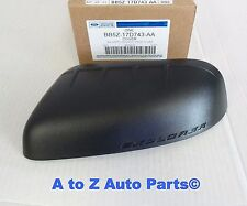 NEW 2011-2015 Ford Explorer Black DRIVER Side Mirror Cap or Cover, OEM Ford