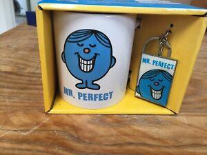 Mr Perfect Mug And Keyring