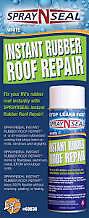 American Motorhome RV Spray N Seal Instant Rubber Roof Repair  Spray On