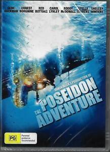 The Poseidon Adventure DVD Gene Hackman New and Sealed Australia