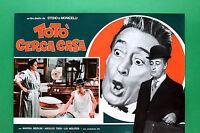 T09 Fotobusta Toto 'Suche Zuhause Steno Mario Monicelli, Marisa Merlini Makawana