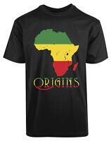 Africa Origins New Men's Shirt Cool Stylish Authentic Elegant Printed Casual Tee