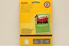 "KODAK 4"" x 6"" MAGNETIC GLOSS PHOTO PAPER (5 SHEETS) & SOFTWARE DOWNLOAD 5740-020"