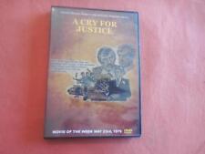 A Cry For Justice TV Robert Culp, Larry Hagman - Cult Noir Crime DVD-R  LIKE NEW