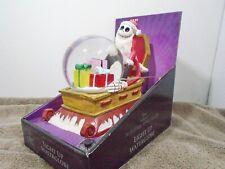 The Nightmare Before Christmas Jack Skellington Light Up Musical Water Globe
