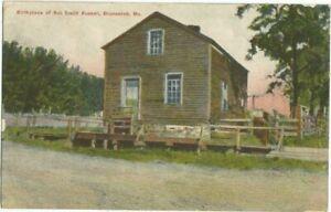 Brunswick, MO Missouri 1910 Postcard, Sol Smith Russell Home