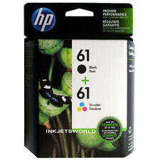 HP 61 Combo Ink Cartridges 61 Black and Color No Box NEW GENUINE