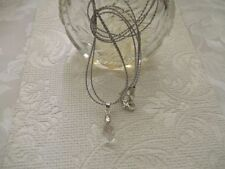 Crystal Alloy Briolette Costume Necklaces & Pendants