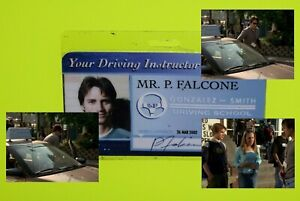 Rare old original Degrassi High School screen used prop laminated ID Instructor