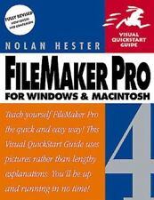 Filemaker Pro 4 for Windows & Macintosh (Visual QuickStart Guide)