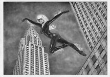BLACK CAT Spider-man Felicia Mary Jane PIN-UP SEXY ORIGINAL ART gwen latex venom