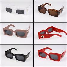 Celeb Style Chunky Squre Vintage Sunglasses Ladies Mens Womens Reflective Lot