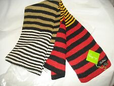 VERA BRADLEY *BITTERSWEET* STRIPED KNIT SCARF NEW WITH TAG QUALITY SCARF SALE!