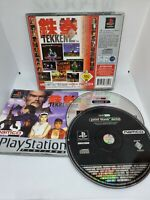 Tekken 2 with Point Blank Demo Platinum PlayStation 1 PS1 PSOne PAL