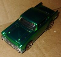 HOT WHEELS 1/64 CLASSICS SERIES 3 57 CHEVY  #20 OF 30 Green *LOOSE*